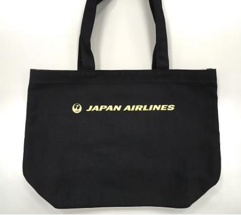 JAL トートバッグ(グレー)